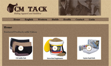 CM Tack Riding Apparel and Saddlery